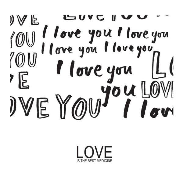 Plakat Love Medicine, 30x40 cm