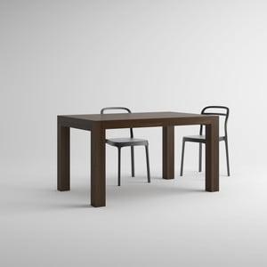 Stół rozkładany w kolorze orzecha MobiliFiver Iacopo, dł.140-220cm