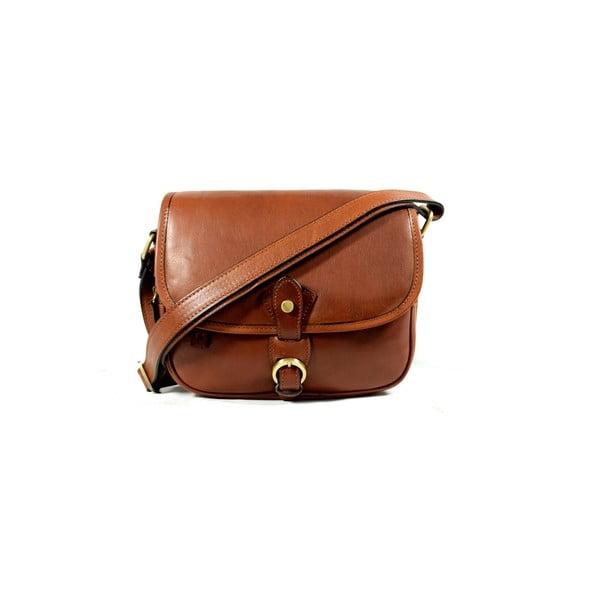 Skórzana torebka Santo Croce M6806 Brown
