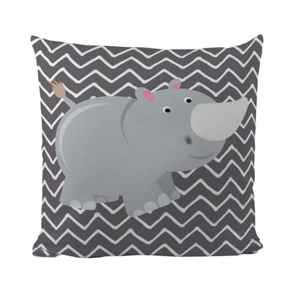 Poduszka   Rhino in Grey, 50x50 cm
