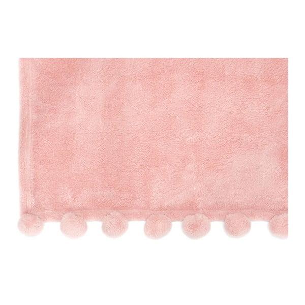Koc Pom Pom Pink, 127x152 cm