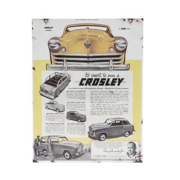 Tabliczka na ścianę Novita Crosley