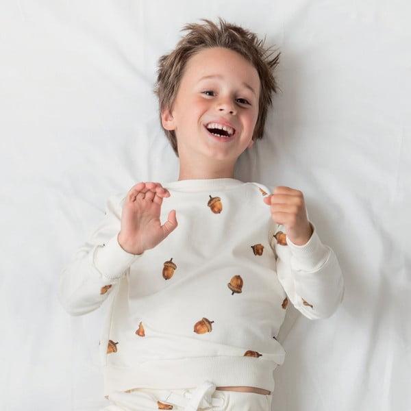 Biała bluza chłopięca Snurk Winternuts, 116