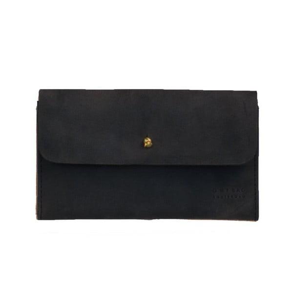 Skórzana portmonetka O My Bag Pixies Pouch, czarna
