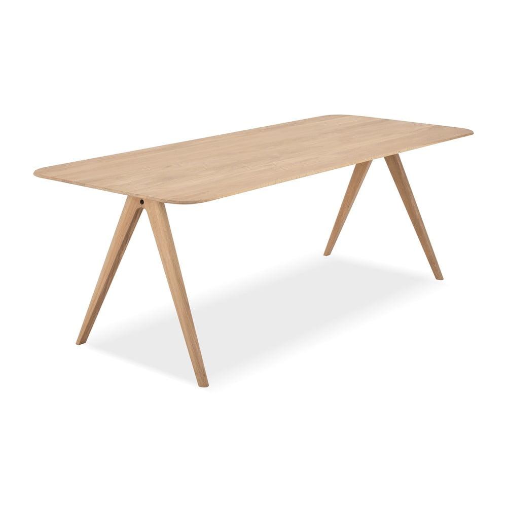 Stół z drewna dębowego Gazzda Ava, 220 x 90 cm