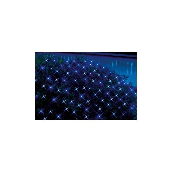 Świecąca siatka Light Network Blue, 2 m