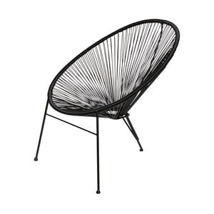 Czarne krzesło De Eekhoorn Breeze