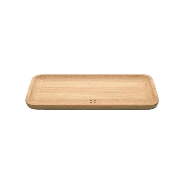 Taca drewniana Sola Flow, 20x11 cm