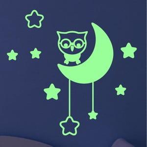 Naklejka   świecąca w ciemności Ambiance Moon and Stars