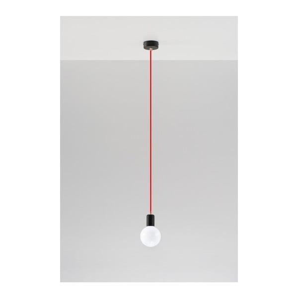 Czerwona lampa wisząca Nice Lamps Bombilla