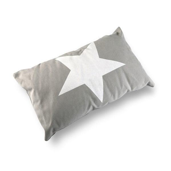 Poduszka Grey&White Stars, 50x30 cm