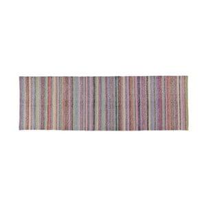 Wełniany dywan Snow Pastel, 80x280 cm