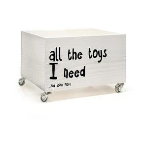 Pudełko na zabawki All Toys I Need
