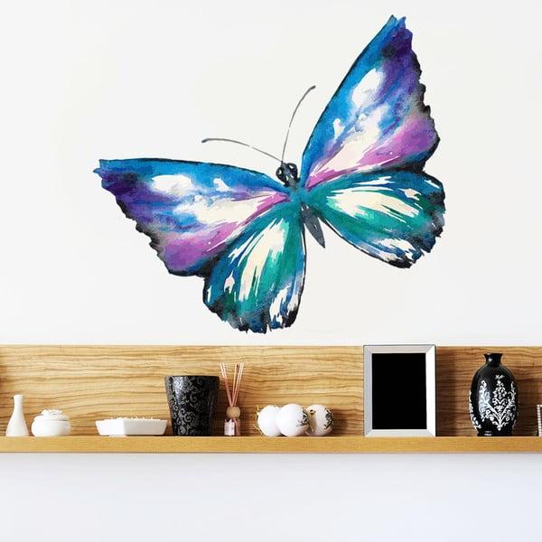 Naklejka Kolorowy motyl, 70x50 cm