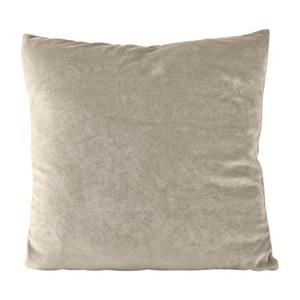 Beżowa poduszka na suwak KJ Collection, 23 cm