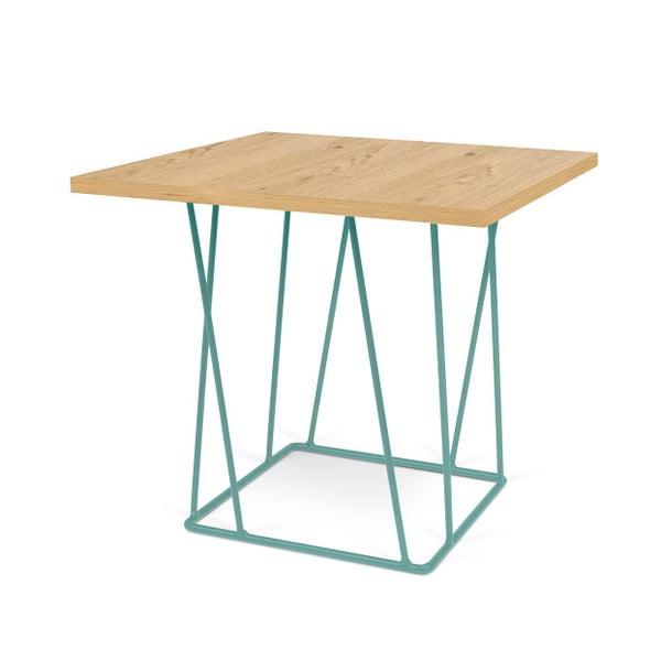 Stolik z zielonymi nogami TemaHome Helix, 75 cm