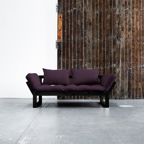 Sofa Karup Edge Black/Purple