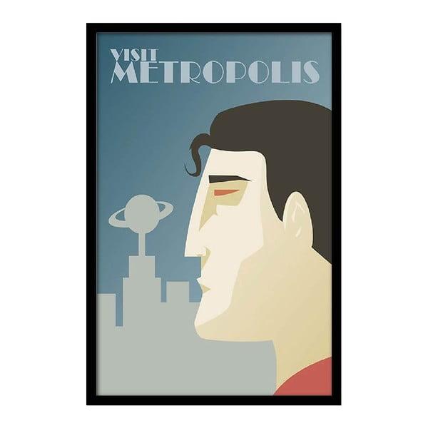 Plakat Visit Metropolis, 35x30 cm