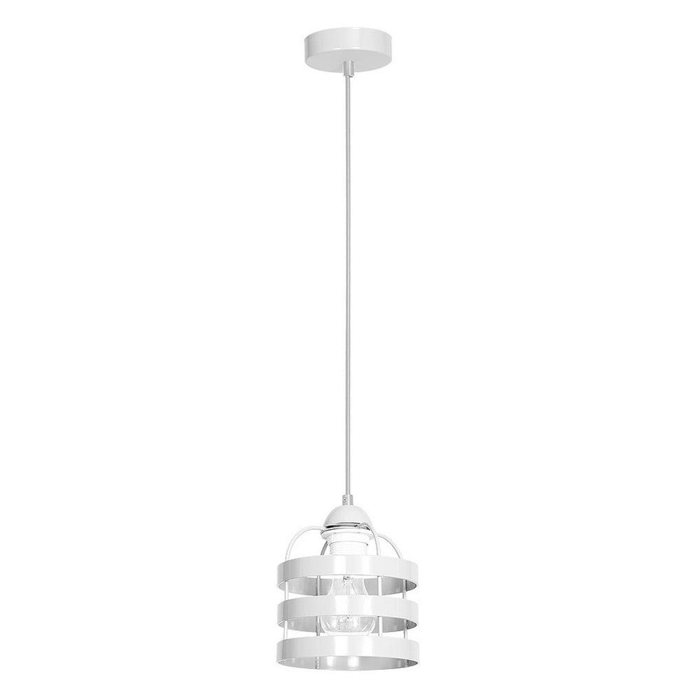 Biała lampa sufitowa Lars Single