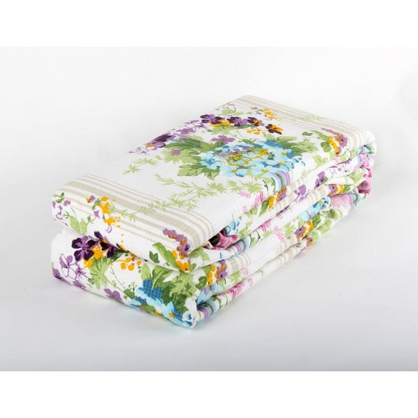Fioletowa narzuta na łóżko Love Colors Sarah, 200 x 240 cm