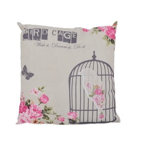 Poduszka Ewax Pink Cage, 40x40 cm