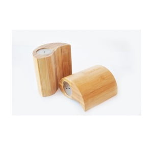 Bambusowa solniczka i pieprzniczka Ginger