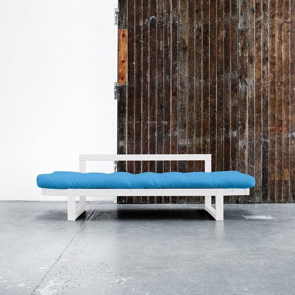 Sofa Karup Edge White/Horizon Blue