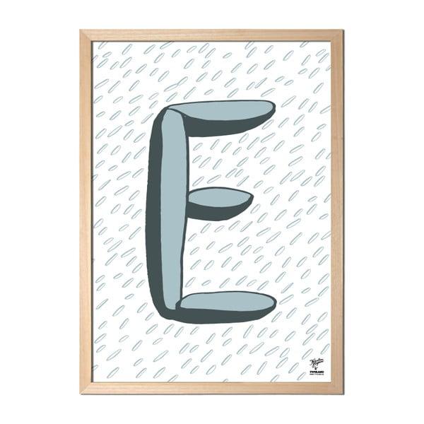 Plakat E designed by Karolina Stryková