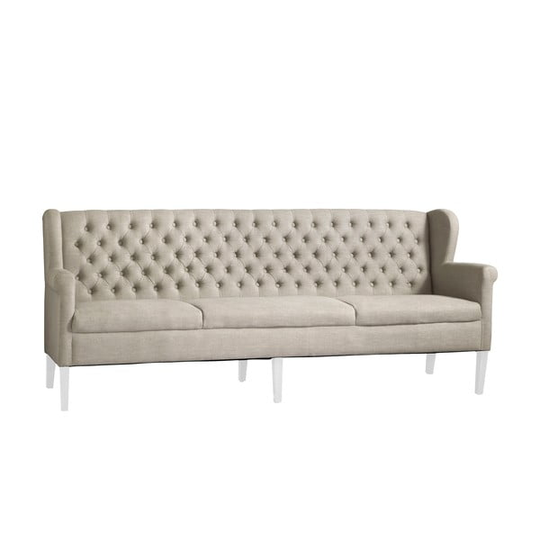 Sofa Canett, Białe nogi