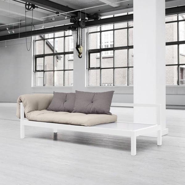Sofa wielofunkcyjna Karup Soul White/Vision/Gris