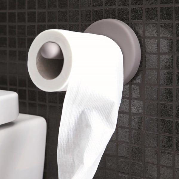 Samoprzylepny uchwyt na papier toaletowy Portaro, biały
