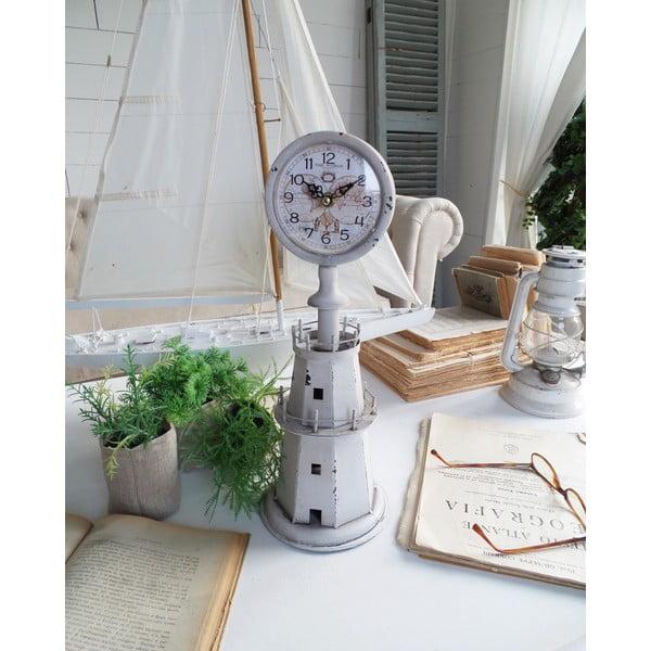 Zegar stołowy World White