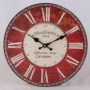 Drewniany zegar Moulinette