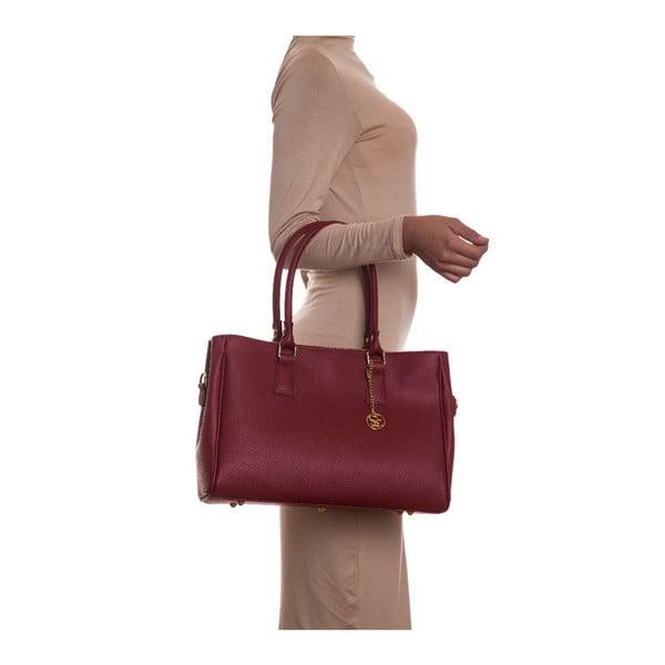 Skórzana torebka Sofia Cardoni 1141 Rosso