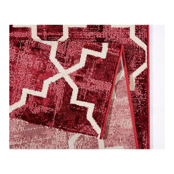 Czerwony dywan Mint Rugs Diamond, 80x150cm