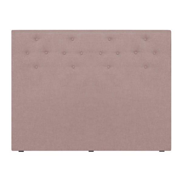 Jasnoróżowy zagłówek łóżka Windsor & Co Sofas Phobos, 160x120 cm