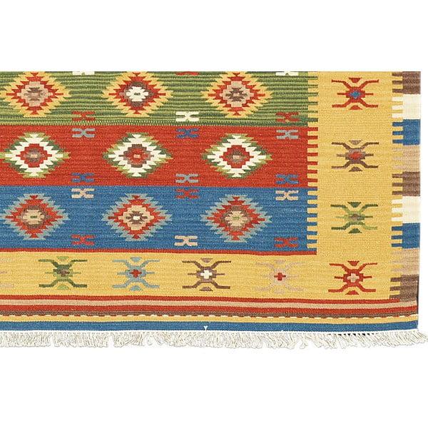 Ręcznie tkany dywan Kilim Classic K38, 95x155 cm