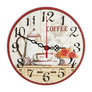 Zegar ścienny Coffee Time, 30 cm
