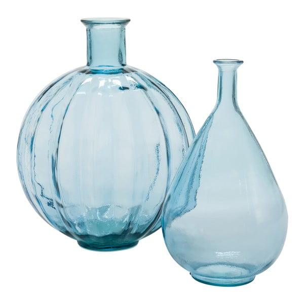 Wazon Peael Blue, 20x20x37 cm