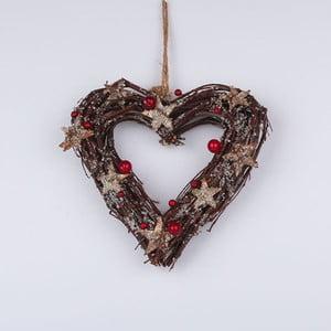 Serce wiszące Dakls, brązowe