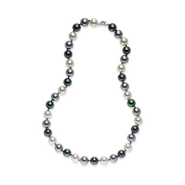 Naszyjnik perłowy Nova Pearls Copenhagen Brigitte Dark