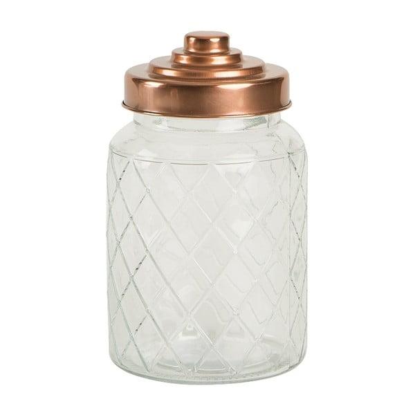 Szklany pojemnik Lattice, 950 ml