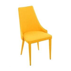 Krzesło Fabric Yellow