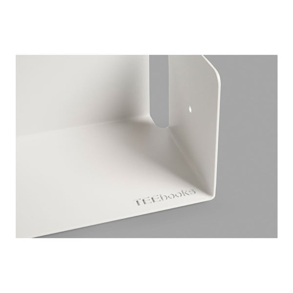 Niewidzialne półki Judd U, białe, 5 sztuk