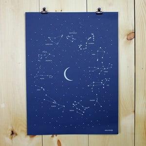 Plakat Constellation, 61x46 cm