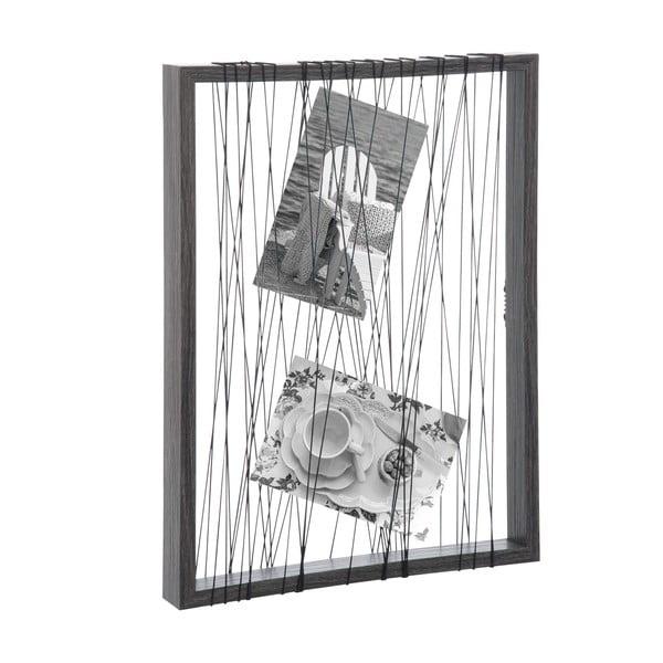 Sznurkowa ramka na zdjęcia Rope Frame, 32x24 cm