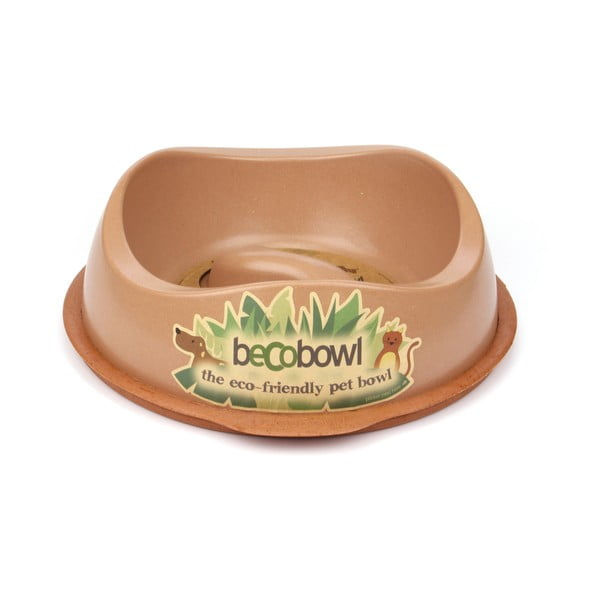Miska dla psa/kota Beco Bowl 28,5 cm, brązowa