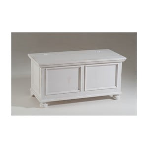 Biała skrzynia drewniana Castagnetti Olivia
