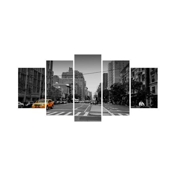 Wieloczęściowy obraz Black&White no. 75, 100x50 cm