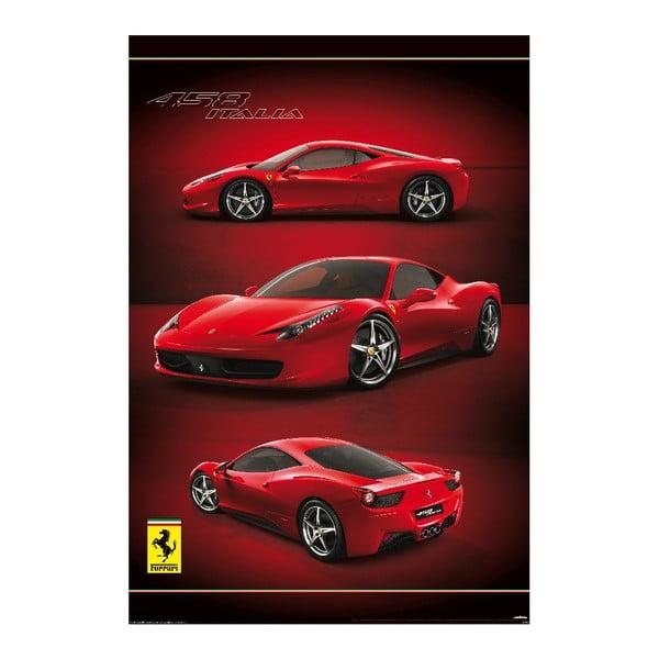 Tapeta wielkoformatowa Ferrari, 158x232 cm